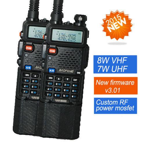 Bao Feng 2 Baofeng walkie talkie 8HX, UV5R , 1 /4w/8w