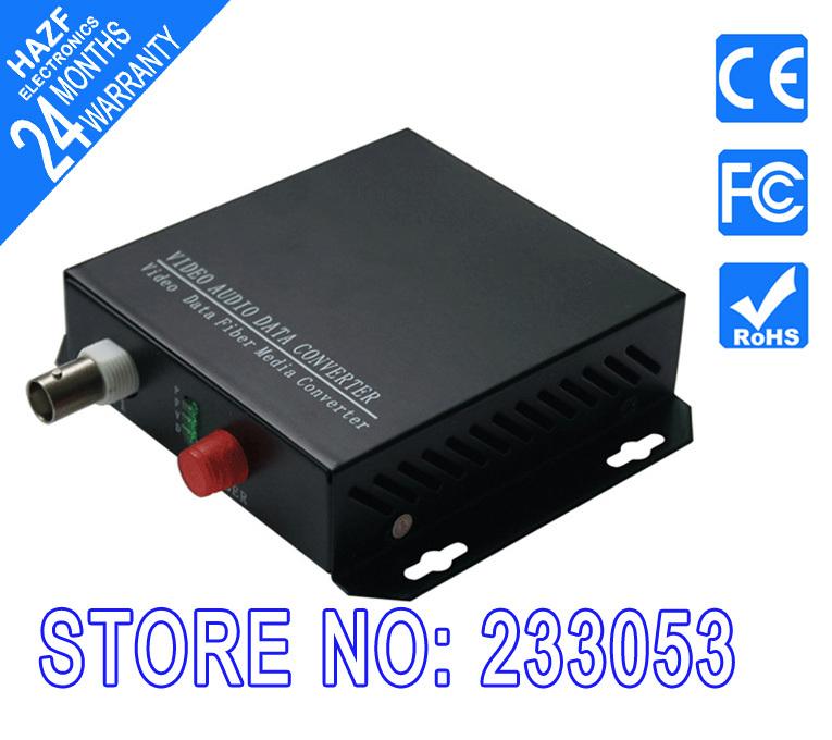Video Optical transceiver, Fiber Optic Transmitter, 1ch video 1ch reverse RS-485, fiber optic converter, Single mode HA-VDC001(China (Mainland))