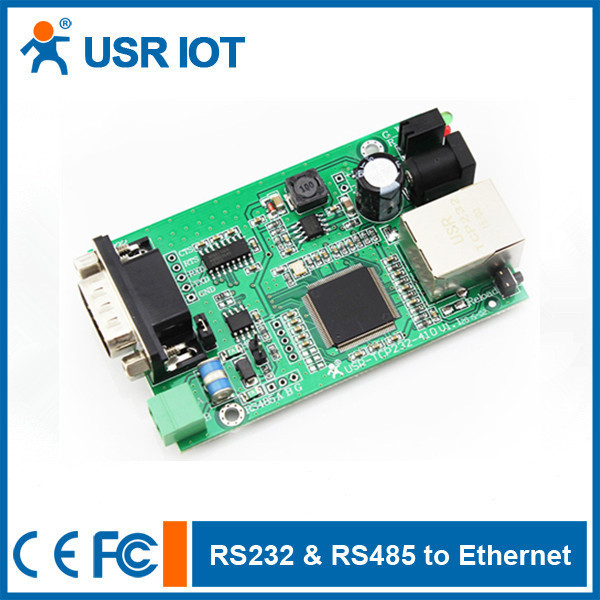 (USR-TCP232-410-PCBA) Serial Server Module,RS232 RS485 to Ethernet Converter(China (Mainland))