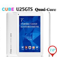 Cube U25GT Super Edition 7 Inch MTK8127 Quad Core 1GB 8GB Tablet PC IPS 1024 600 Android 4.4 GPS HDMI OTG FM Bluetooth WIFI