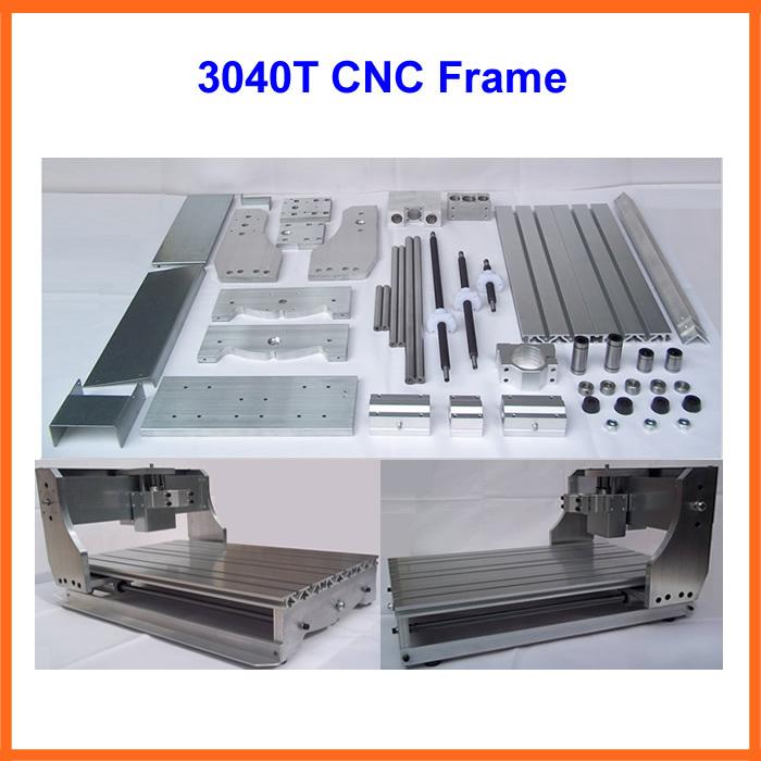 Быстроходный деревообрабатывающий фрезерный станок LY ! diy cnc , cnc 3040 3040T cnc frame
