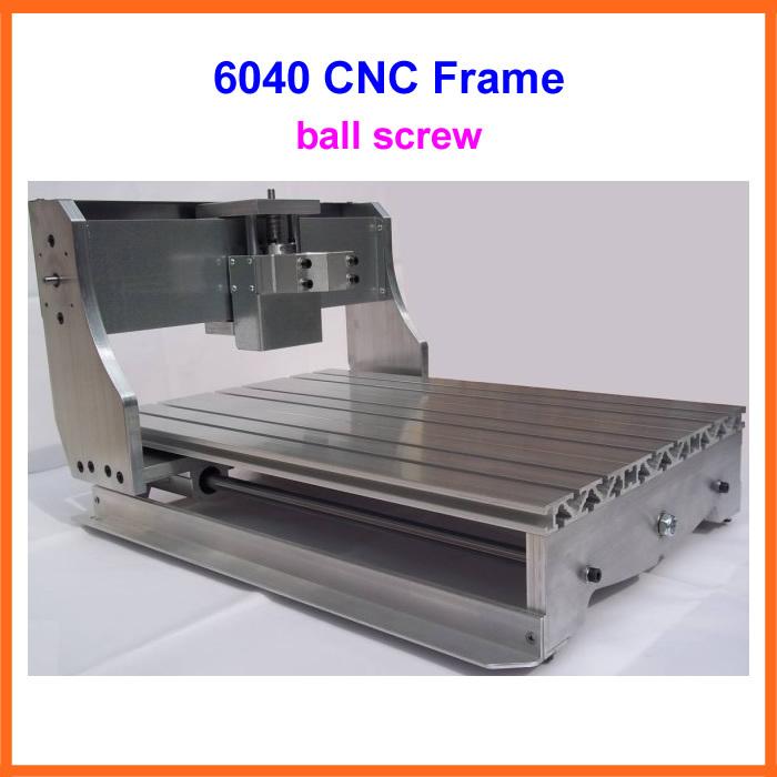 Быстроходный деревообрабатывающий фрезерный станок LY CNC 6040 6040Z DIY , 6040Z cnc frame