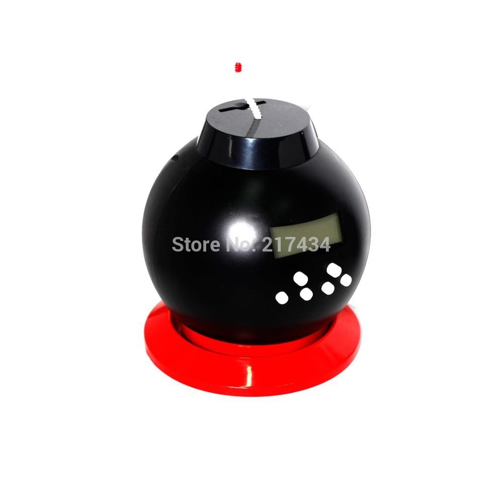 Creative LYGF Lazy Bomb Alarm Clock Creative Fashion Spoof Toys Money Pot Money Box Piggy Bank Black(China (Mainland))