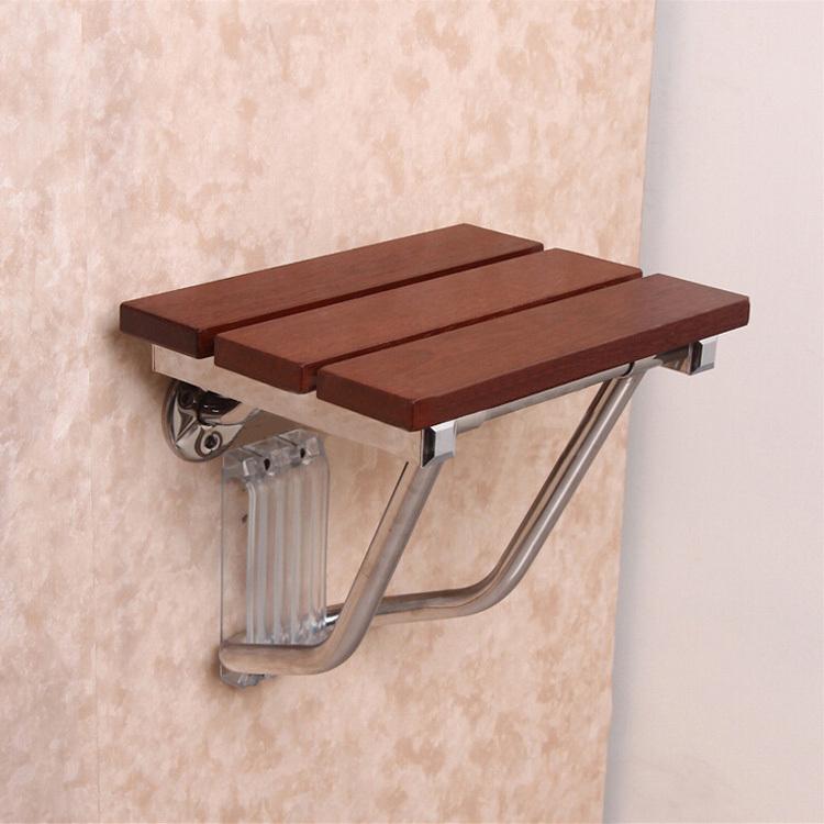 Hocker F?r Dusche H?henverstellbar : Wood Folding Shower Chair