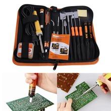 Jakemy JM-P04 30W Electric Engineer DIY Welding Soldering Tool Set Electric Solding Iron + Flux + Tweezers New FE#8