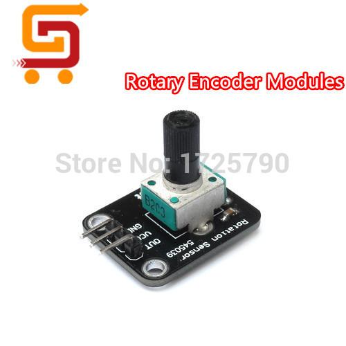 NEW Rotary Encoder Module For Arduino Electronic Brick Sensor Development Rotational Potentiometer Analog Control Module KY-040(China (Mainland))