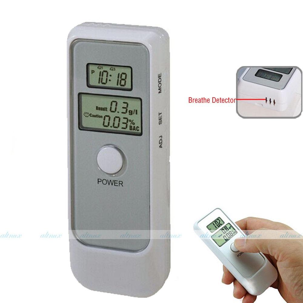 Free shipping New Portable Police Digital Breath Alcohol Tester Breathalyzer Analyzer Analyser(China (Mainland))