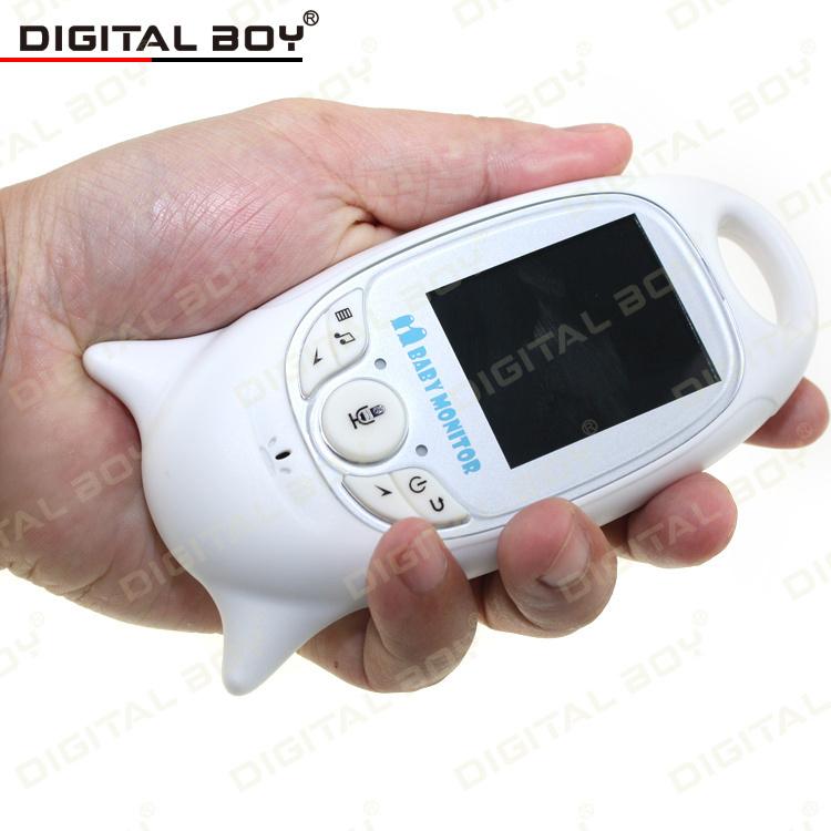 "2015 New 2.4G Wireless Baby Monitor 2.0"" Video Security Camera 2 Way Talk Nigh Vision Temperature Monitoring With 8 Lullabies(China (Mainland))"