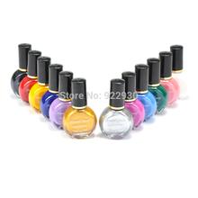 3 garrafas pintura profissional Konad Stamping Nail verniz Manicure laca unha polonês 26 cores para escolher