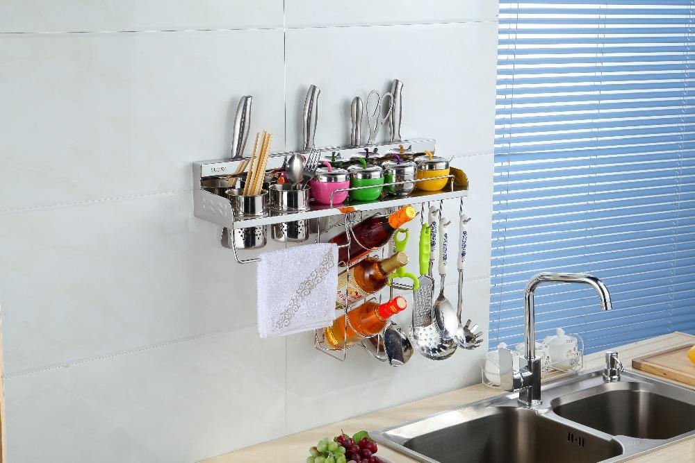 Keuken Rek Kopen : -keuken-wandplank-opslag-manden-met-kruiden-rek-opbergrek-keuken