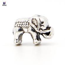 NEW Fashion 1pc Jewelry 925 silver Mini Elephant Bead Charm European Silver Bead Fit Pandora BIAGI Bracelet
