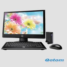 New bay trail J1800 mini pc  Qotom-T32  linux  2G ddr3 ram and 320Gb HDD home htpc computador desktop baytrail mini pcs