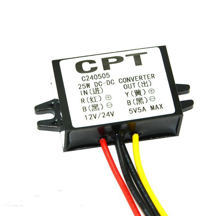 high current 12V 24V (8V-35V) to 5V5A dc-dc inventer step down buck module car power supply DC voltage regulator(China (Mainland))
