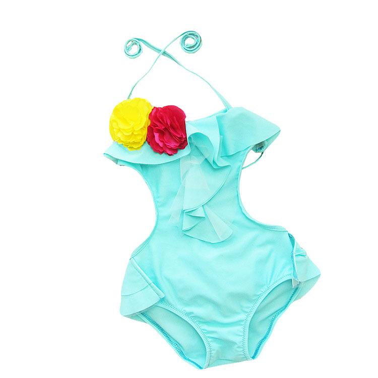 Закрытый купальник для девочек SBEXOB , KW007