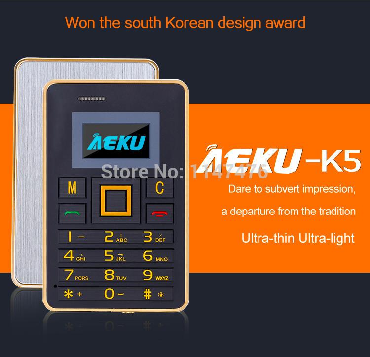 Мобильный телефон AEKU K5 FM Bluetooth PK AIEK M5 мобильный телефон aiek m3 aiek 3 6 8 fm mp3 bluetooth fm