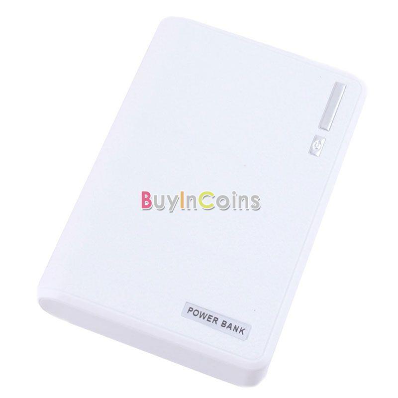 30000mAh Dual USB External Power Bank Backup LED Battery Charger for iPhone PYTL #58161(China (Mainland))