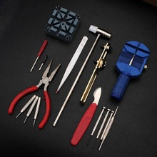 Best Promotion 16pc Deluxe Adjust Watch Back Case Spring Bar Remover Opener Tool Kit Repair Fix