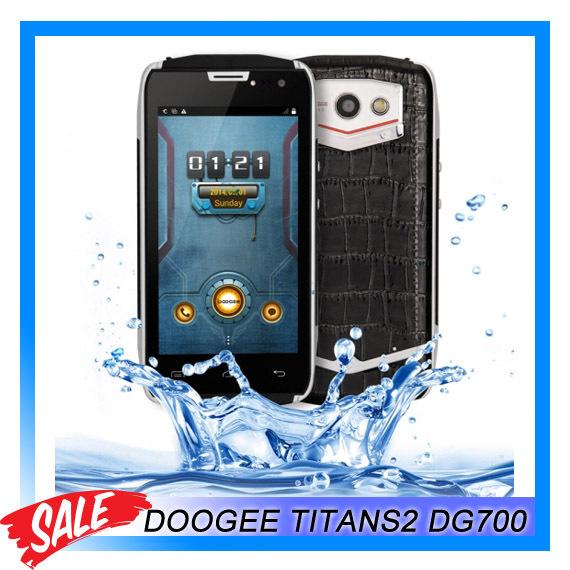 DOOGEE TITANS2 DG700 Водонепроницаемый Противоударный 8 ГБ ROM + 1 ГБ RAM 3 Г 4.5 Android 4.4 Смартфон MTK6582 Quad Core Dual SIM lacywear dg 8 kpm