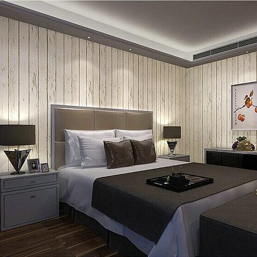 Papel de parede moderno grande papel de parede Botticing azul grão de madeira papel de parede não tecido tv fundo da parede vertical stripe papel de parede(China (Mainland))