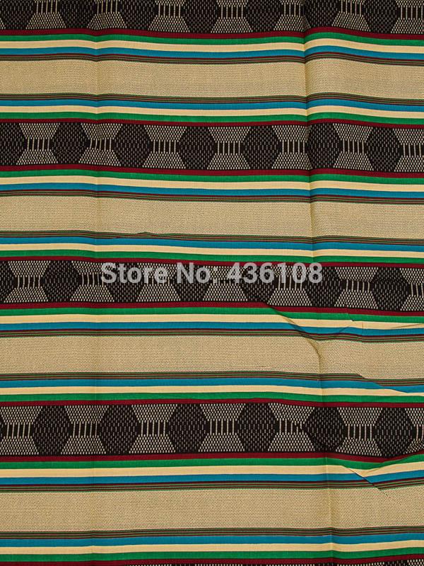 Wholesaler African Fabric Real Wax Geometric Pattern Army Green Design rw255713(China (Mainland))