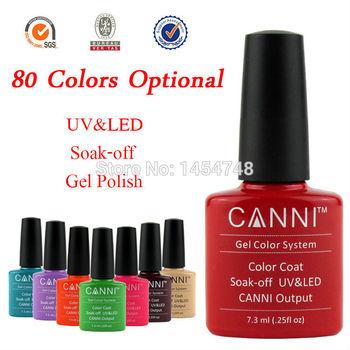 Популярные! 1 шт. CANNI уф / из светодиодов замочить , с ногтей уф-гель для ногтей лаки лак для пальто ( вы выбираете цвета )