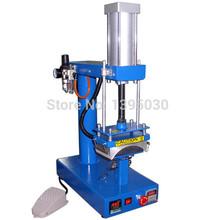 1pc air cap press machine.pneumatic heat press machine Free shipping by DHL