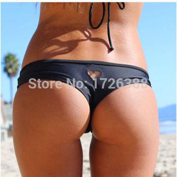 Горячая 2015 новинка черный сексуальные женщины бразильский чики т-обратно вырез стринги нижней бикини купальники бесплатная доставка