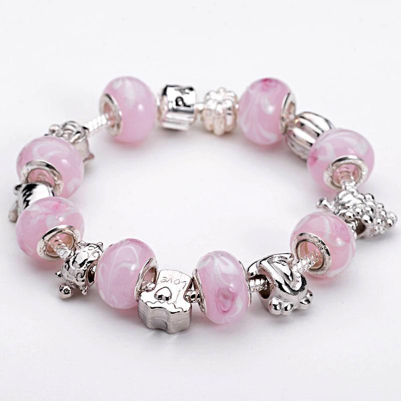 Браслет с брелоками Fashion 925 , bracelet браслет цепь oem lx ah211 925 925 aigaizna buraklya bracelet