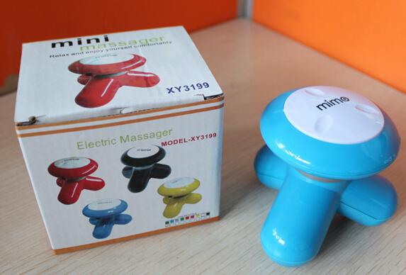 Wholesale 240 pcs Vibration Mini USB Electric Full Body Neck Foot Handled Tripod Massager(China (Mainland))