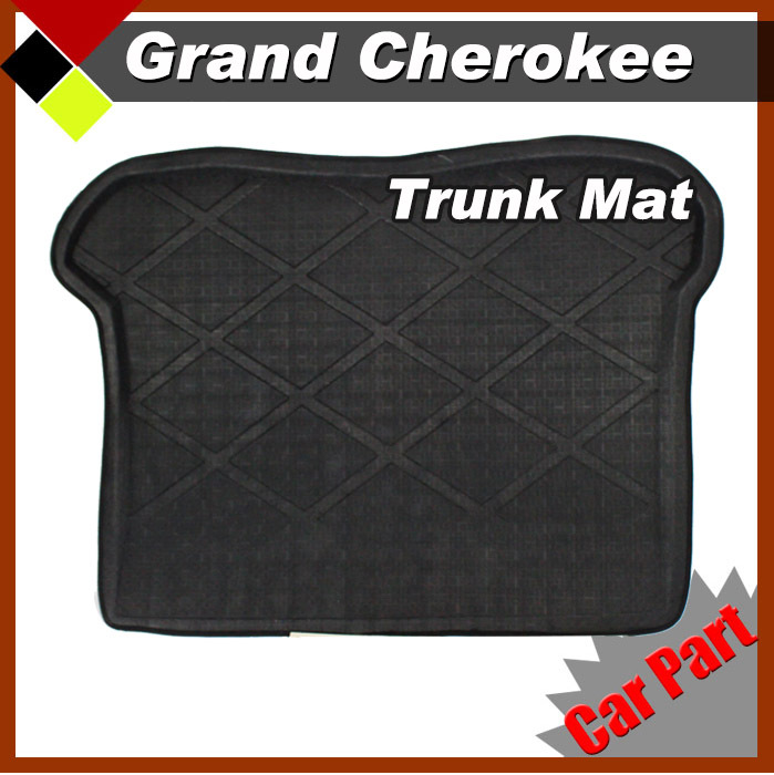 Car Rear Area Mat Auto Trunk Mat Carpet Premium All Weather Heavy Duty For 2008-2012 Jeep Grand Cherokee(China (Mainland))