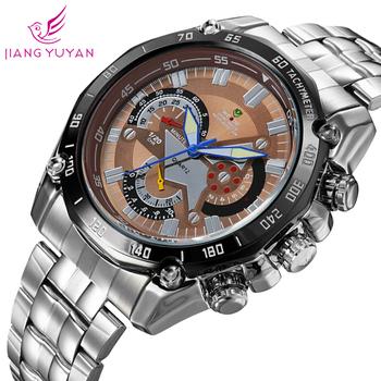 Военные часы мужчины 2015 люксовый бренд вайде мужчины часы полный нержавеющей стали световой аналоговый кварцевые