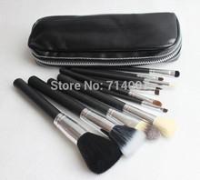 Free Shipping NEW Makeup Brush 12 pcs Set Pouch Professional Brush ( 10 pcs /lot)