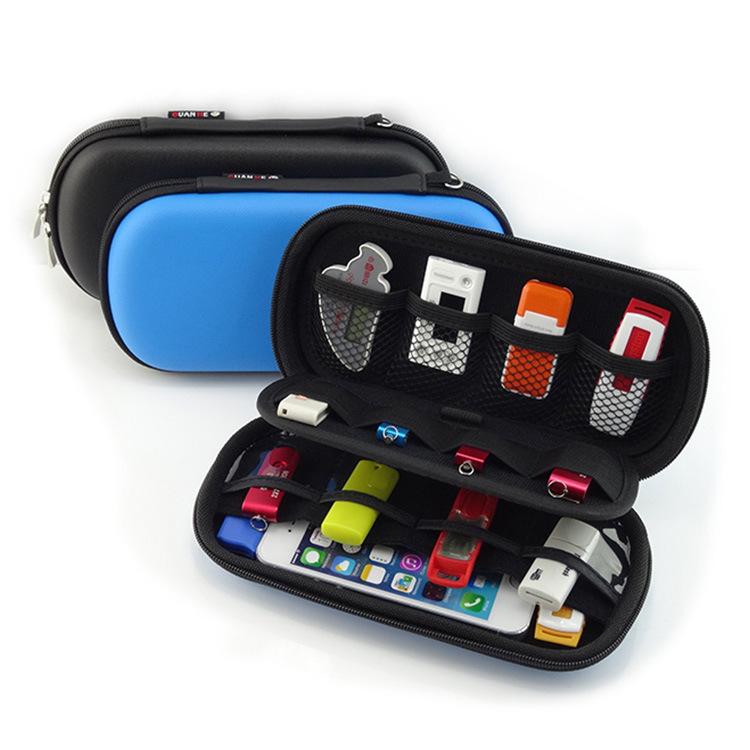 Mini Digital Products Pouch Travel Storage Bag for USB Flash Drive, Health USB Key, SD Memory Card Case, Phone, Bank Card(China (Mainland))
