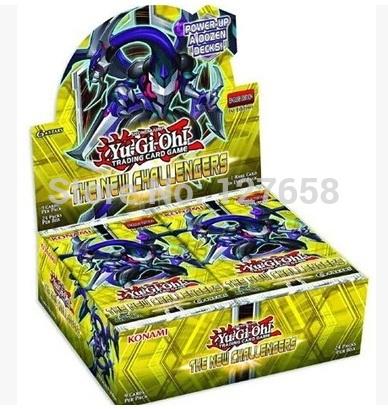 KONAMI Yugioh Card English Genuinehe New Challengers 902 new box(China (Mainland))