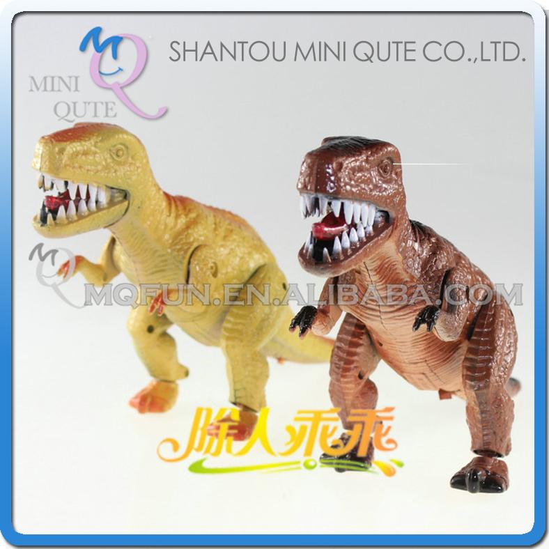 Mini Qute 24 cm plastic Godzilla Jurassic Park robot sound flash walk electronic dragon Dinosaur Tyrannosaurus model toy NO.1039(China (Mainland))