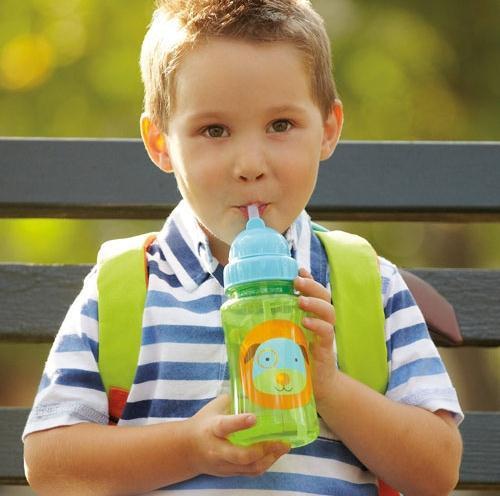 Детские дети мультфильм животных солома кубок дети бутылки воды питьевой чашку герметически детские спортивные бутылки