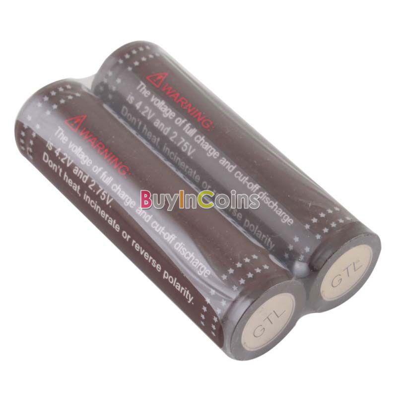 все цены на Аккумуляторная батарея OEM 2 GTL ICR 18650 3.7V 3000mAh ECOS #26670 онлайн