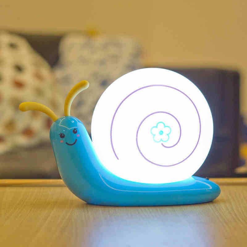 Snail usb battery dual led lamp small night light Energy saving Peculiar appearance Creative Classic(China (Mainland))