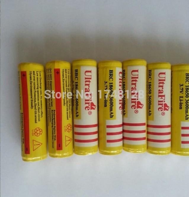 50pcs/lot 3.7V 3600mAh Original 18650 rechargeable li-ion Battery plus board for power tools free shipping(China (Mainland))