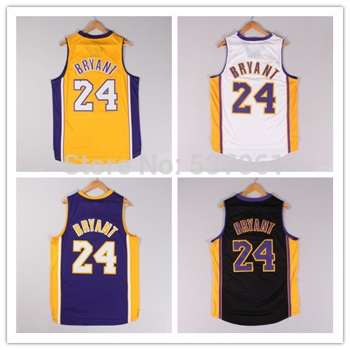 Free shipping,14-15 Los Angeles LA #24 Bryant basketball jerseys,new season fabric style,Printed logos,high quality,wholesales(China (Mainland))
