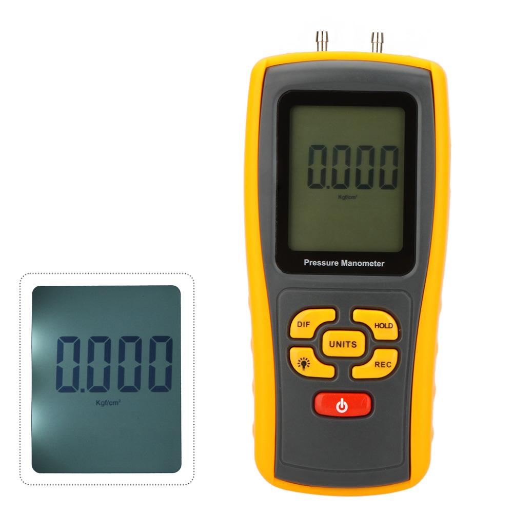 GM510 Portable USB Digital LCD Pressure Gauge Differential Pressure Manometer Measuring Range 10kPa Manometer(China (Mainland))
