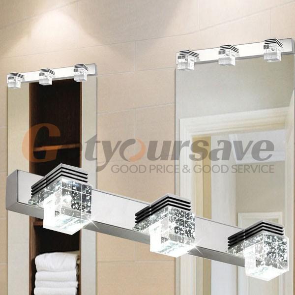 Lamparas Para Cuarto Baño:Led moderno cuarto de baño espejo de cristal luces de pared lámparas