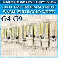 1pcs G9 G4 LED 3W 5W 6W 9W 10W LED Corn Light SMD 3014 2538 Super bright Replace 30W Halogen Lamp Led Light spotlight