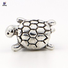 NEW Fashion 1pc Jewelry 925 silver Tortoise Bead Charm European Silver Bead Fit Pandora BIAGI Bracelet