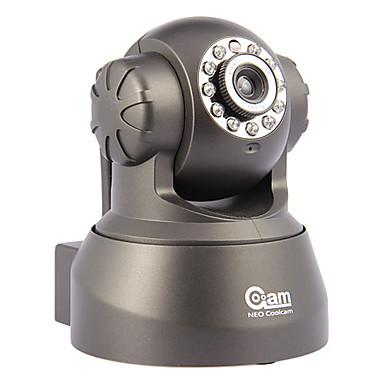 1280*720P IP Dome Camera indoor IR-CUT 11 IR LEDS Night Visibility up to 15M support wireless 420TVL Cheap Indoor IP Camera(China (Mainland))