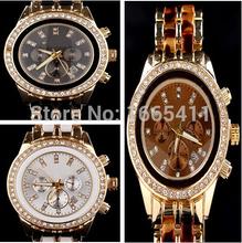 Venta caliente nueva moda Kors mujeres del reloj Luxury Brand aleación relojes de cuarzo digitales hombres mujeres hombres diamante calendario reloj 8MK9
