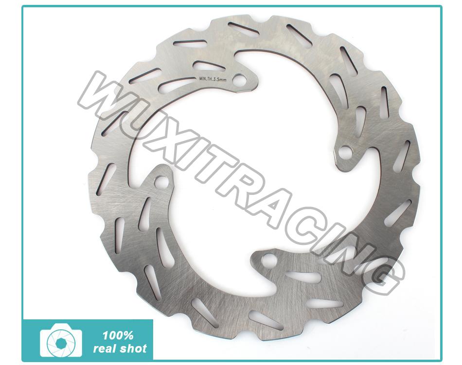 MX Offroad Bike Rear Brake Disc Rotor for Kawasaki KX 125 25003-08 KXF 250 450 04-14 KLX R 450 06-14 New Motocross(China (Mainland))