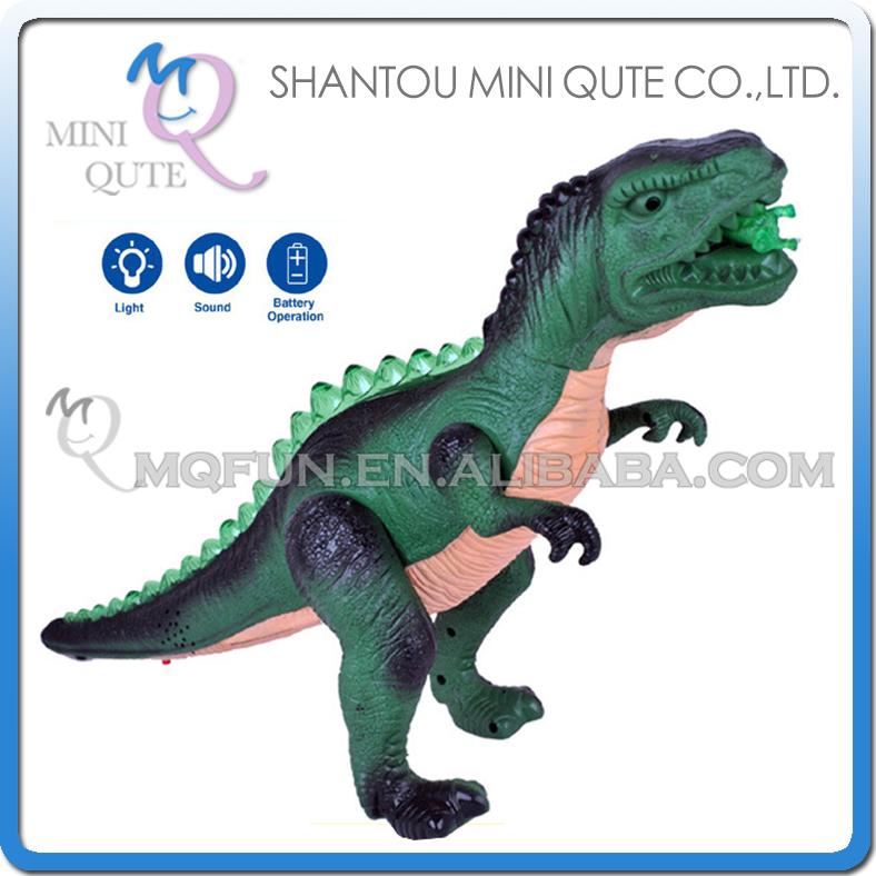 5pcs/lot Mini Qute 46 cm plastic Godzilla Jurassic Park robot sound flash walk electronic Dinosaur Tyrannosaurus toy NO.130(China (Mainland))