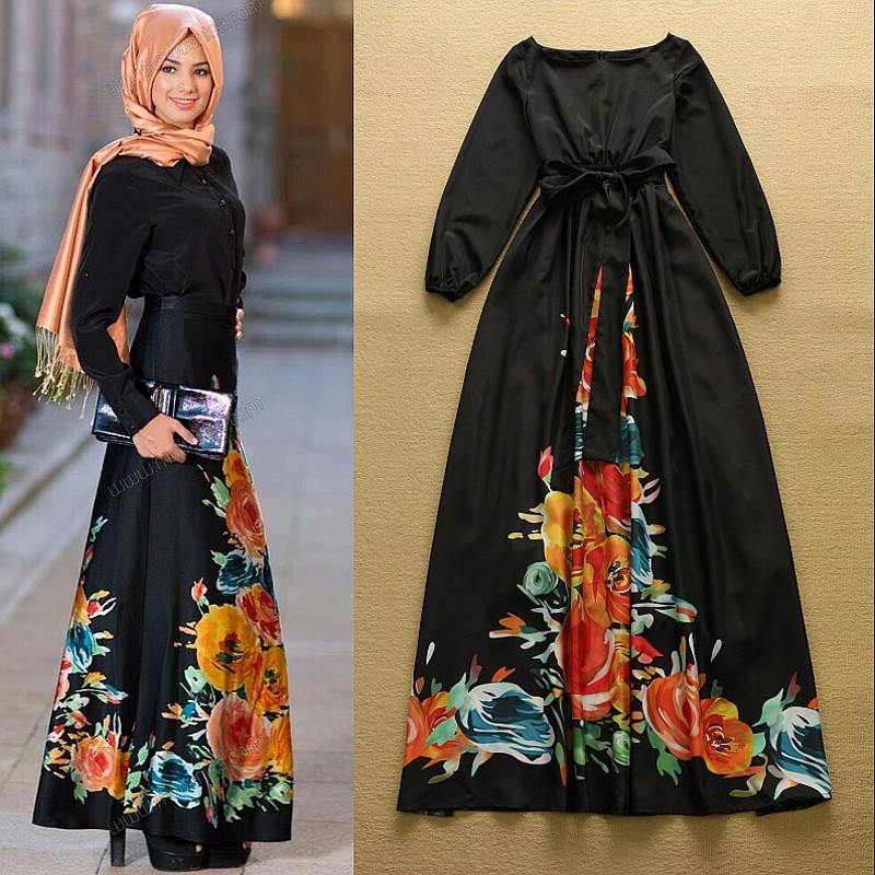Летние платья для мусульманок