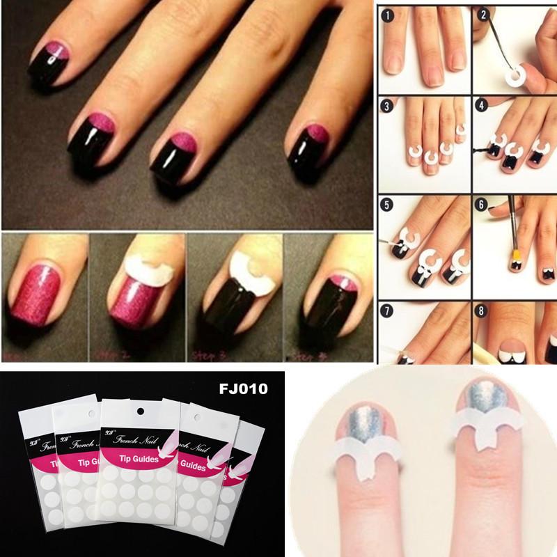 Как пользоваться трафаретом для ногтей лунный маникюр